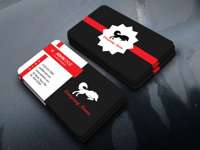 I will do business card business card design business card