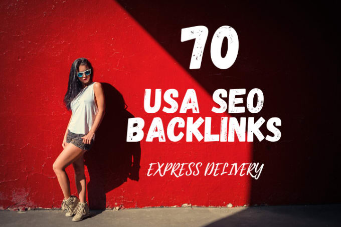 I will do 70 white hat SEO backlinks,  USA link building