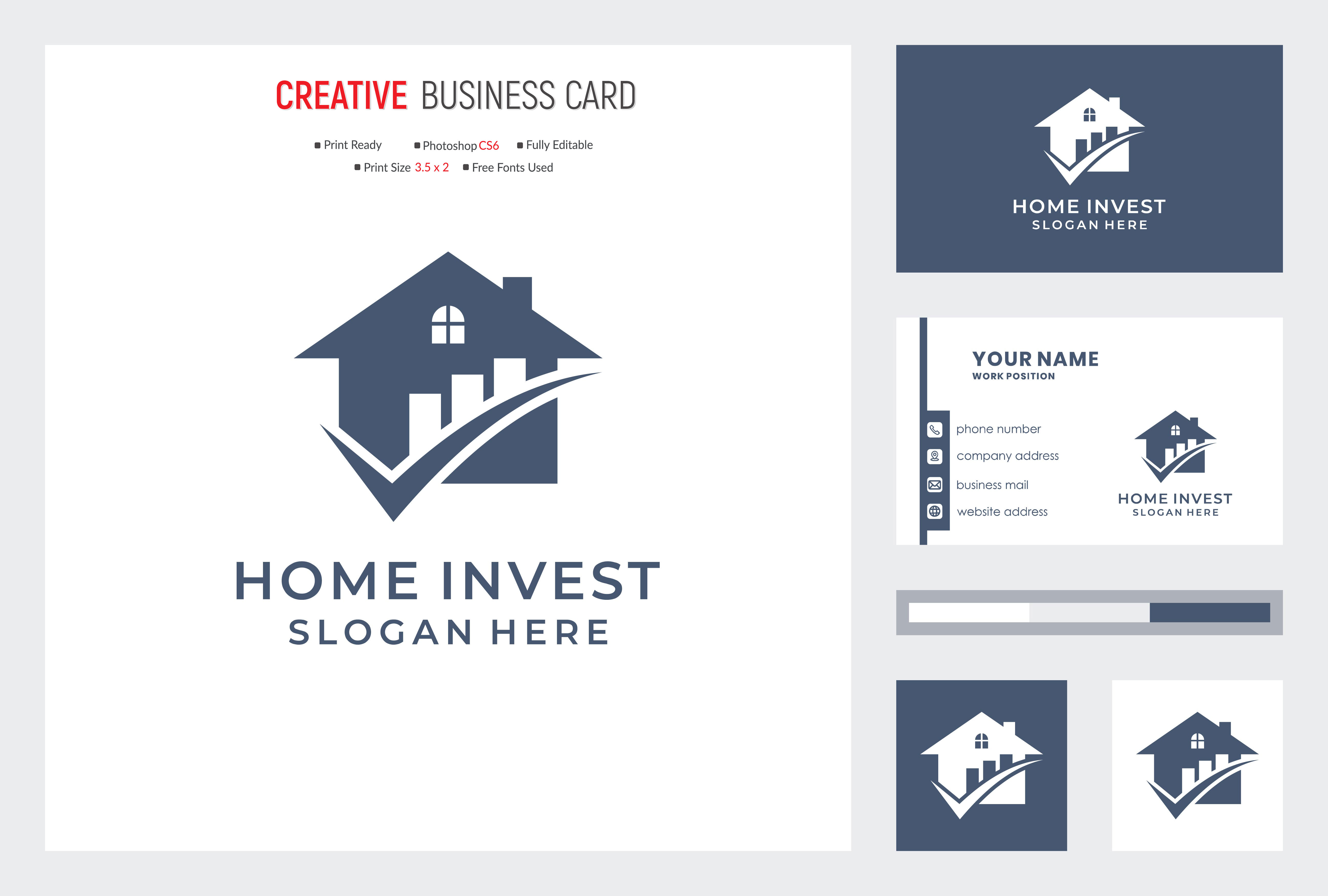 I will design awesome and modern business card