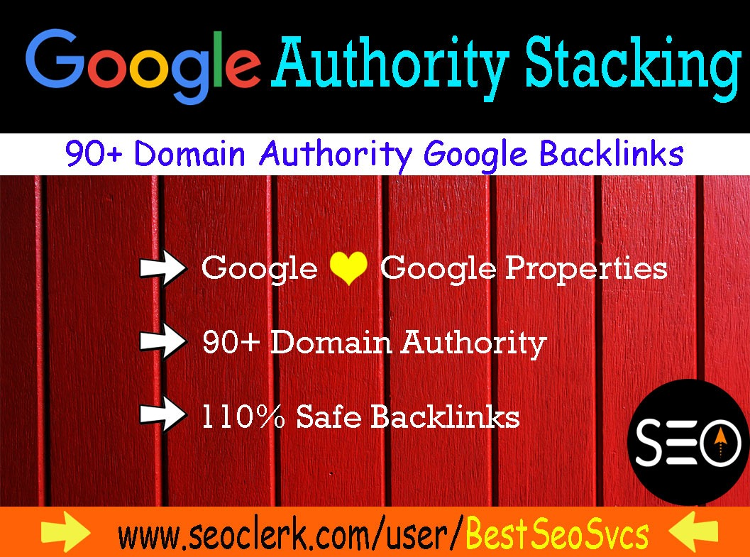 I will do google authority stacking backlinks to boost local SEO