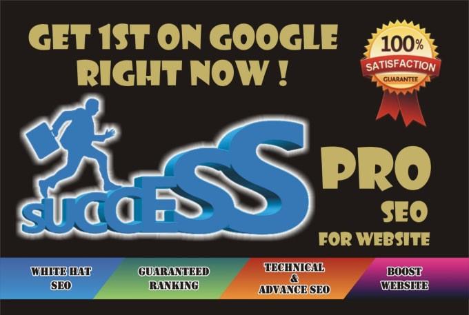 I will do pro SEO of godaddy,  wordpress,  wix,  squarespace websites