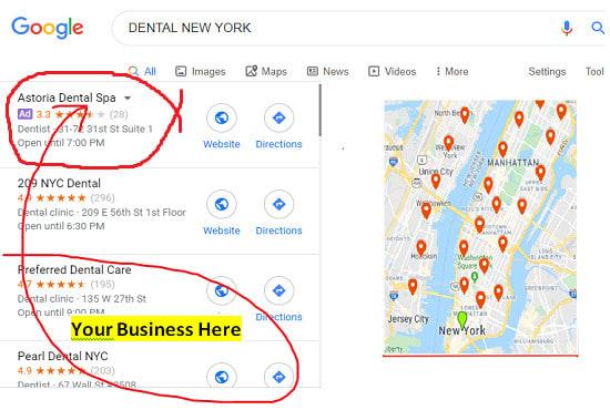 I will do 2000 google map citation for local seo