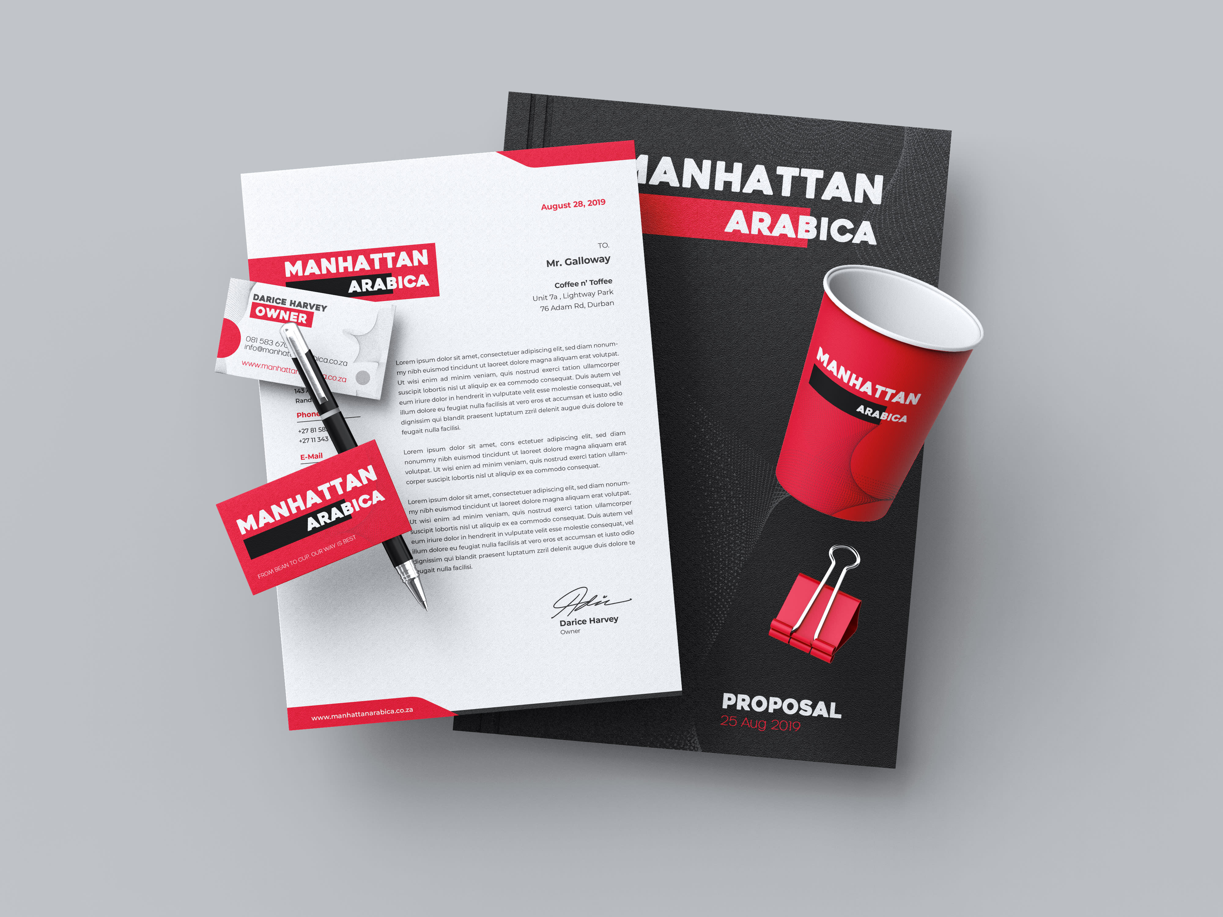 I will create stunning corporate branding identity for your business