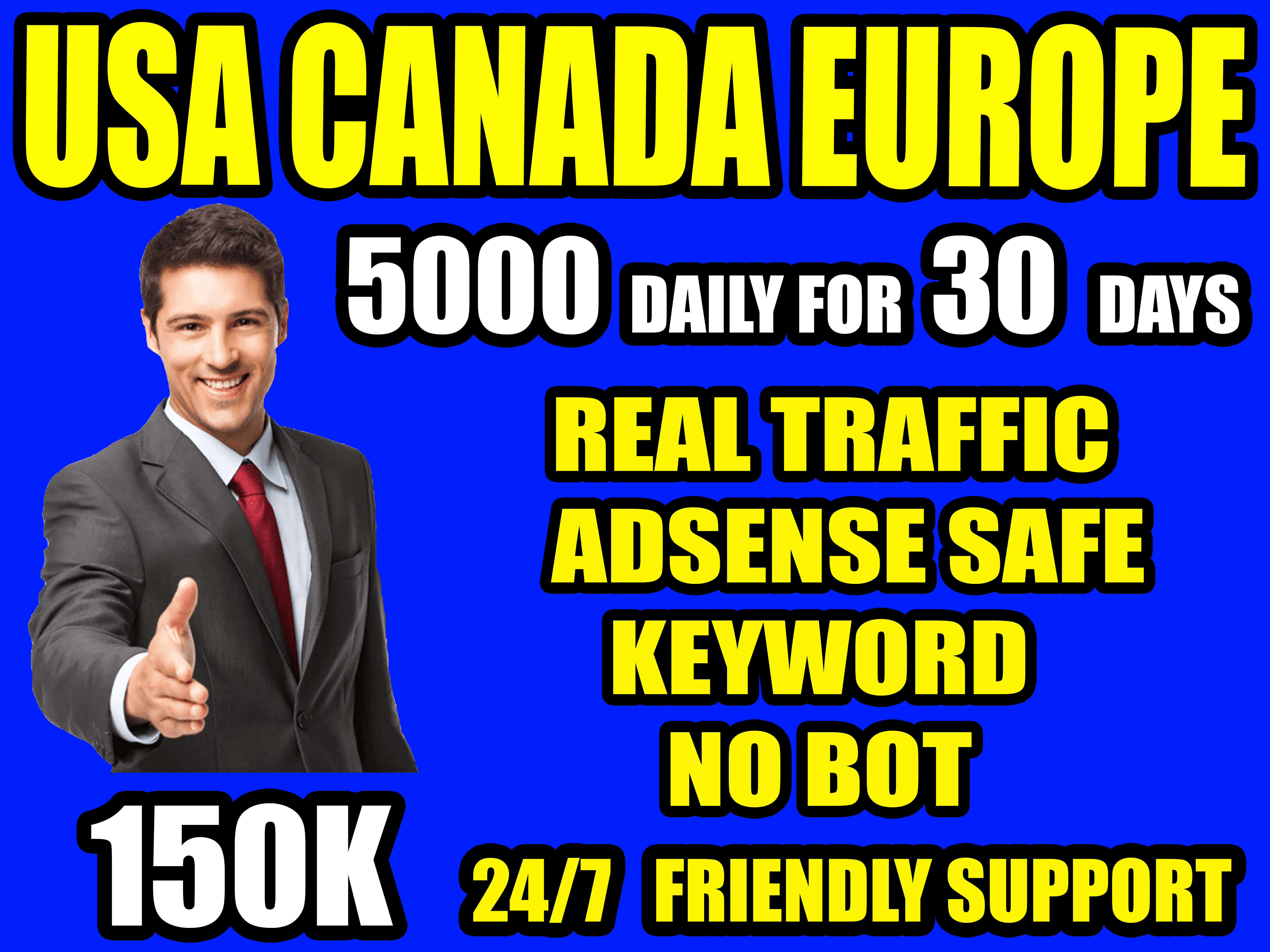 I will drive real targeted traffic,  quality visitors,  for 30 days