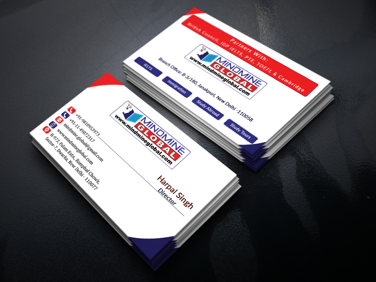 I will design your logo and business card