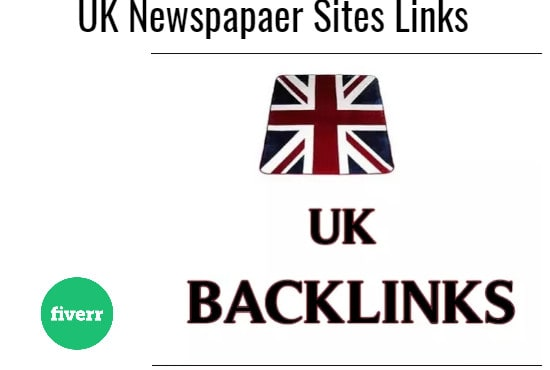I will build 40 local backlinks from top UK newspaper sites