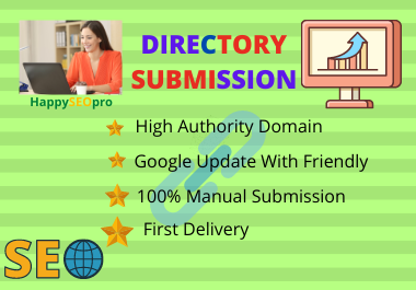 I will do 45 high PA,  DA,  PR any local citations and directory submission