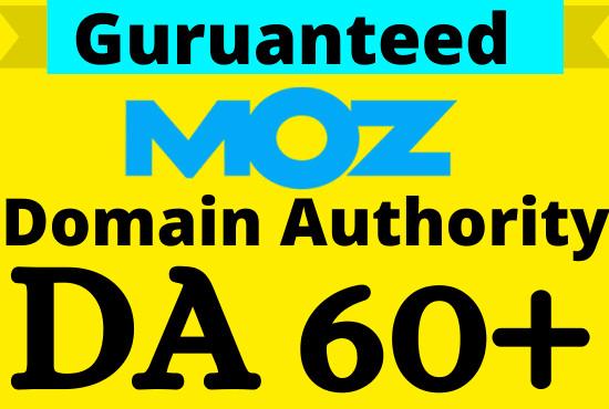 Increase Domain Authority Moz Da 50 Plus