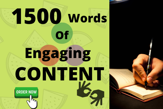 Will Write Original 1500 Words SEO Article for Your Website or Blog