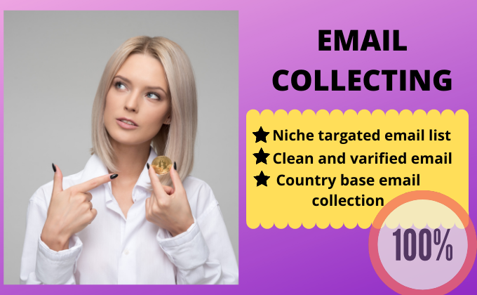 provide 5000 niche targeted verified email list