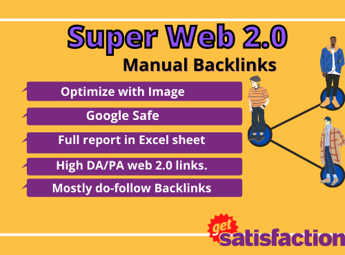 make 50 web 2.0 backlinks manually