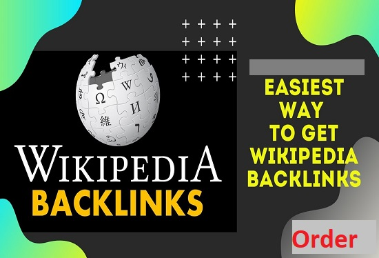 I will Do 400 Powerful Niche Relevant High Authority Wikipedia Backlinks for Your website