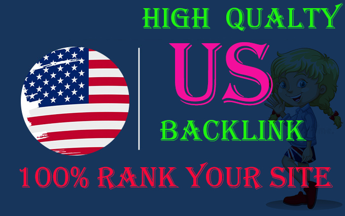 manually create 60 USA high quality dofollow backlinks with high authority link building