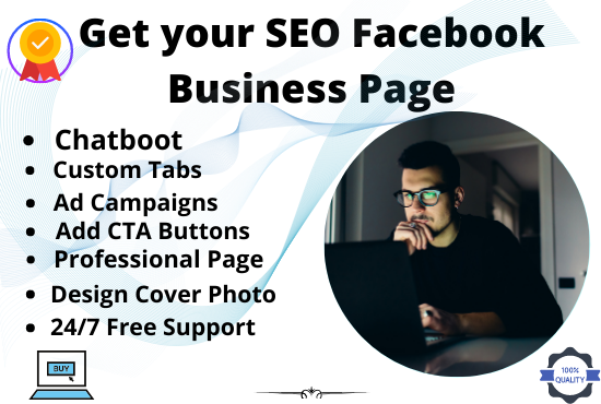 Set up SEO friendly Facebook Business page and optimize it professionally
