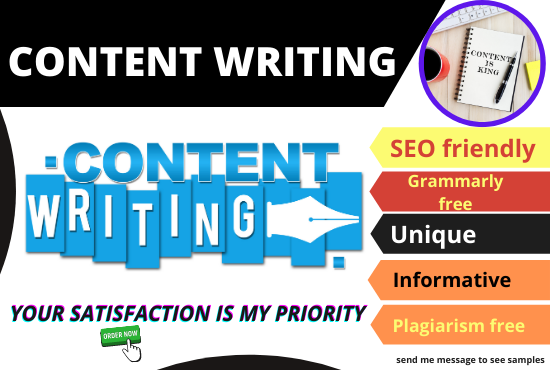 I will write 1000 words SEO friendly unique content writing for your website and Blog