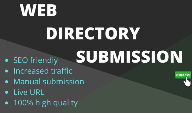 I will do manually 100 directory SEO backlinks for your website