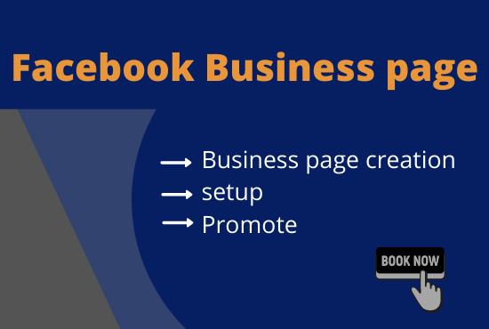 I will setup SEO Facebook business page,  setup,  manage and optimize