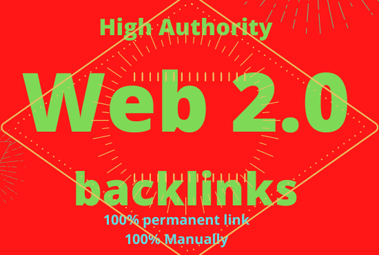 build 50 high domain authority contextual web 2 0 backlinks