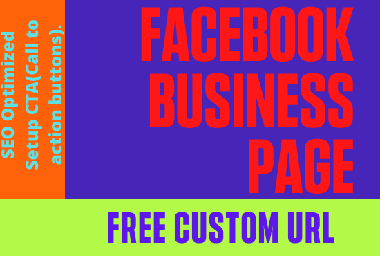 create,  setup facebook business page with SEO optimization fully professionally