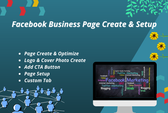 I will create & optimize your SEO Facebook Business Page