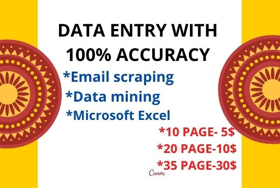 complete your data entry without error, online and offline within 24 hours