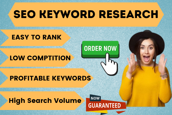 I will do best SEO keyword research and competitor analysis for your website