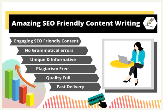 Write DO 1000 words amazing SEO friendly content like blog posts, article writing, website content