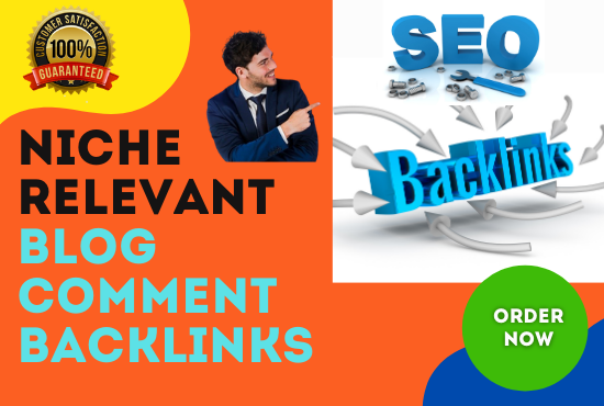 I Will Manually Do 50 Niche Relevant Blog Comment Backlinks