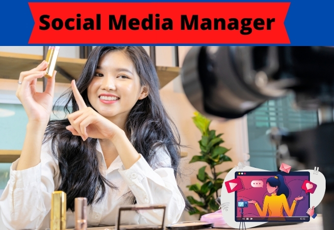 I will be your social media marketing manager for SMM