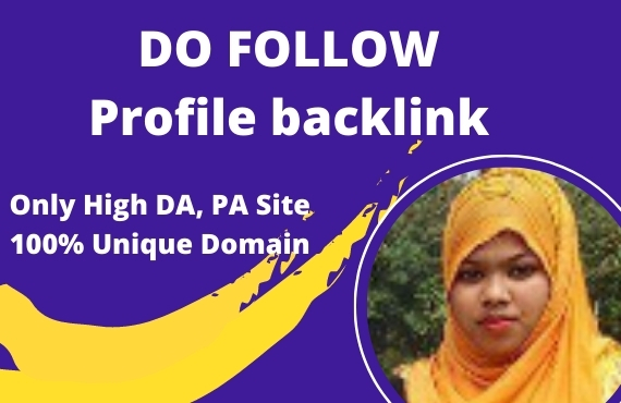 I will do 70 SEO service high quality profile backlinks manually