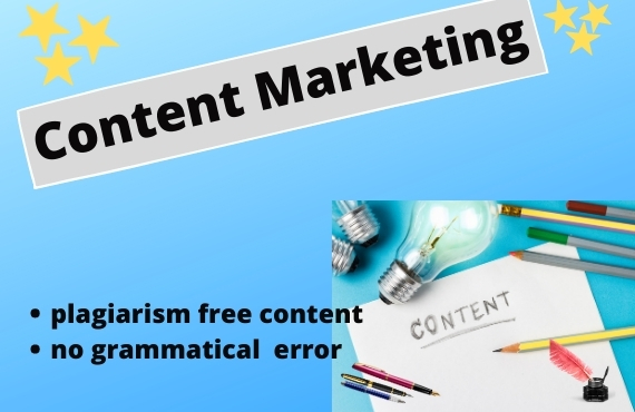 I do write a unique SEO optimized content writer Blog post and be your web content.
