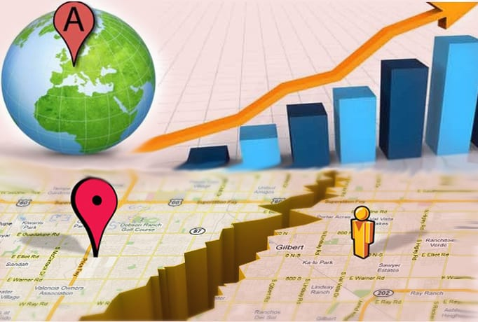 I will create 45, 250 map citations for google local page and website business listing