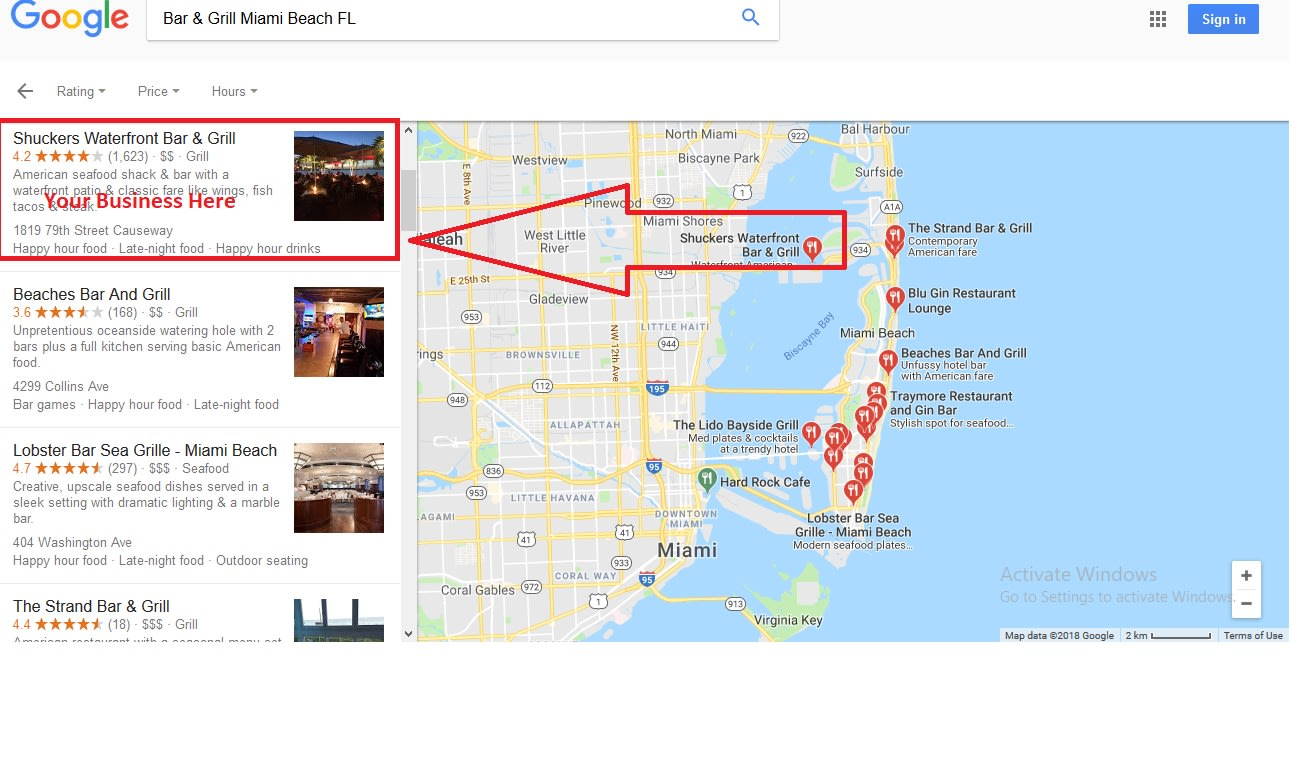 I will do 2000 google point map citation for local SEO