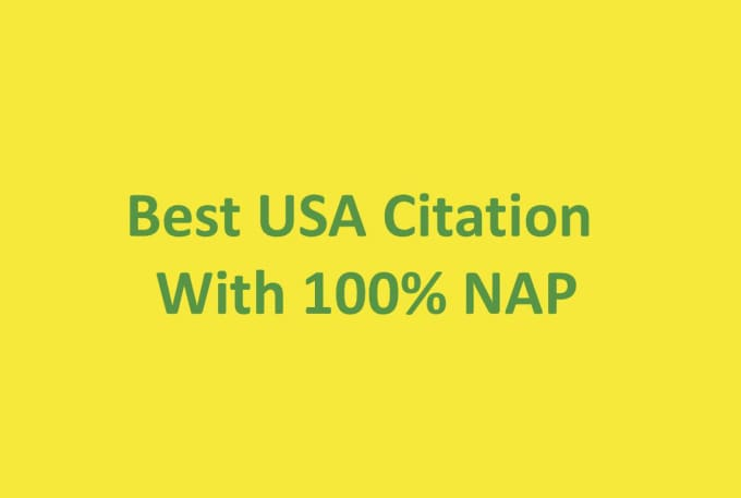 I provide 30 high DA citations with napping list best US quotes