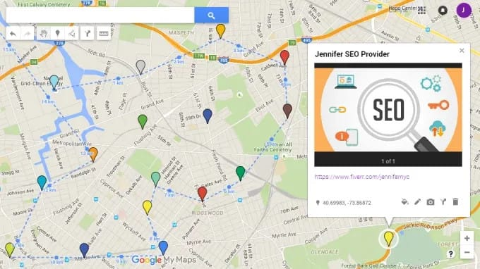 I will create 65 map local seo citations for your local business