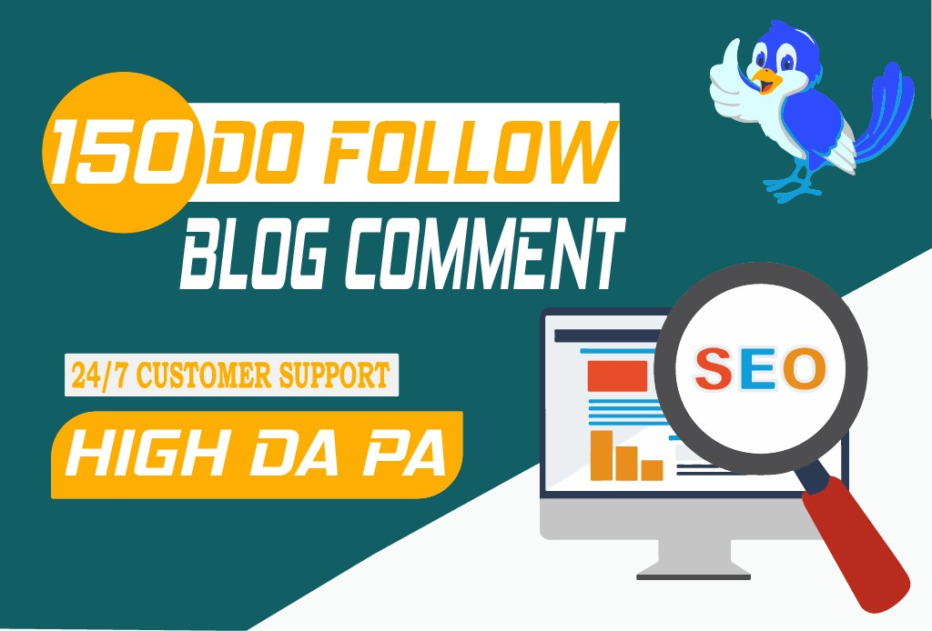 Create manually 150 Dofollow blog comment backlinks Buy 3 and GET 1 FREE