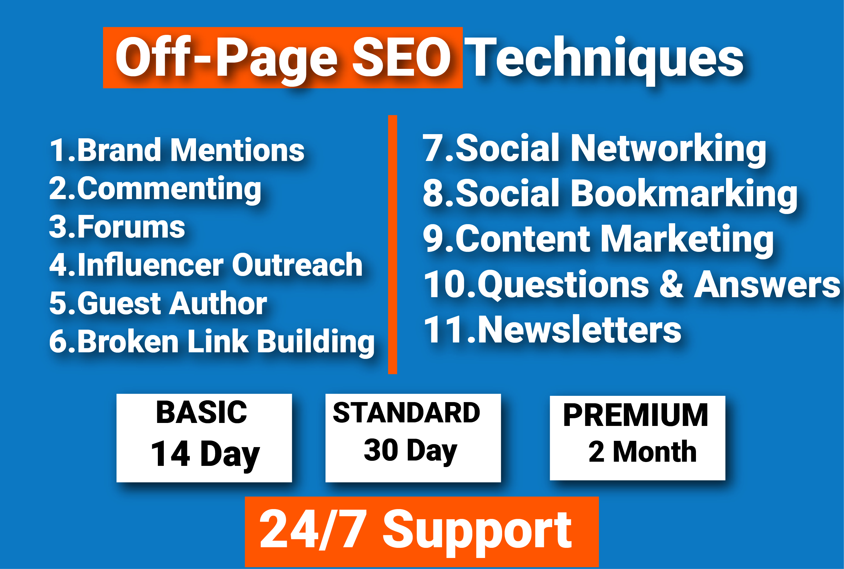 I will build 11 smarts off page SEO techniques you need to use right now