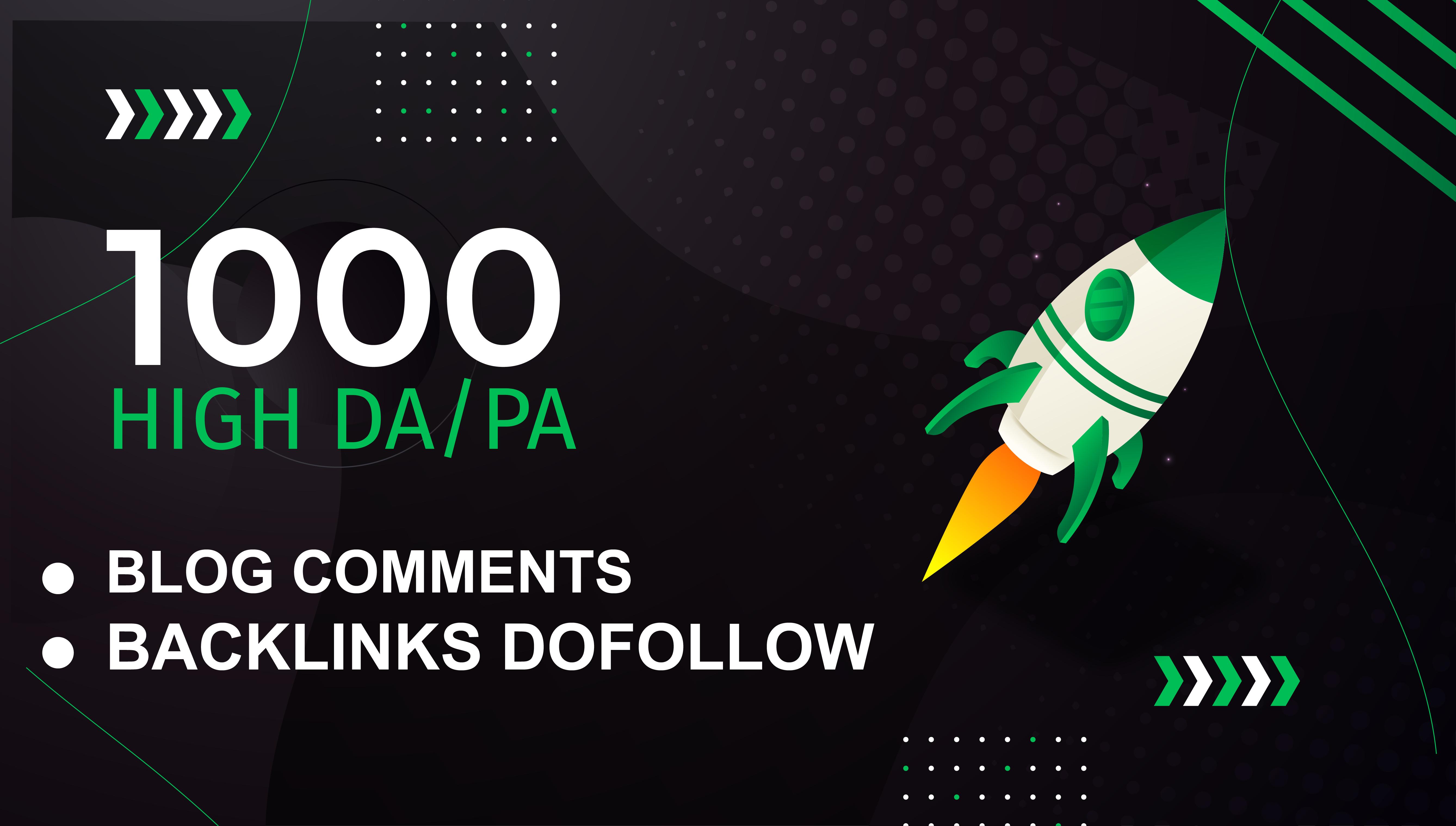 I Will Build 1000 Dofollow SEO Backlinks Google Top Ranking