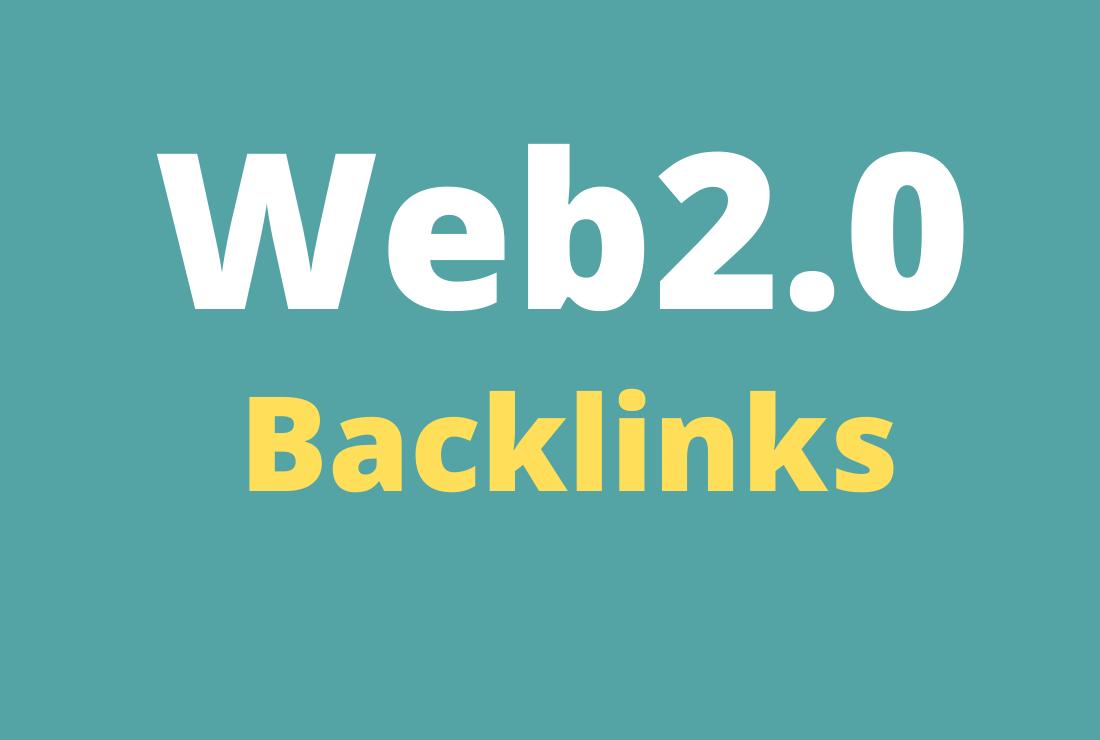 25 Web2.0 Backlinks On High DA PA Sites Manually Service