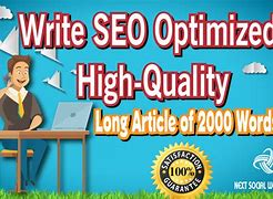 SEO Optimized High-Quality Long Article of 2000 words