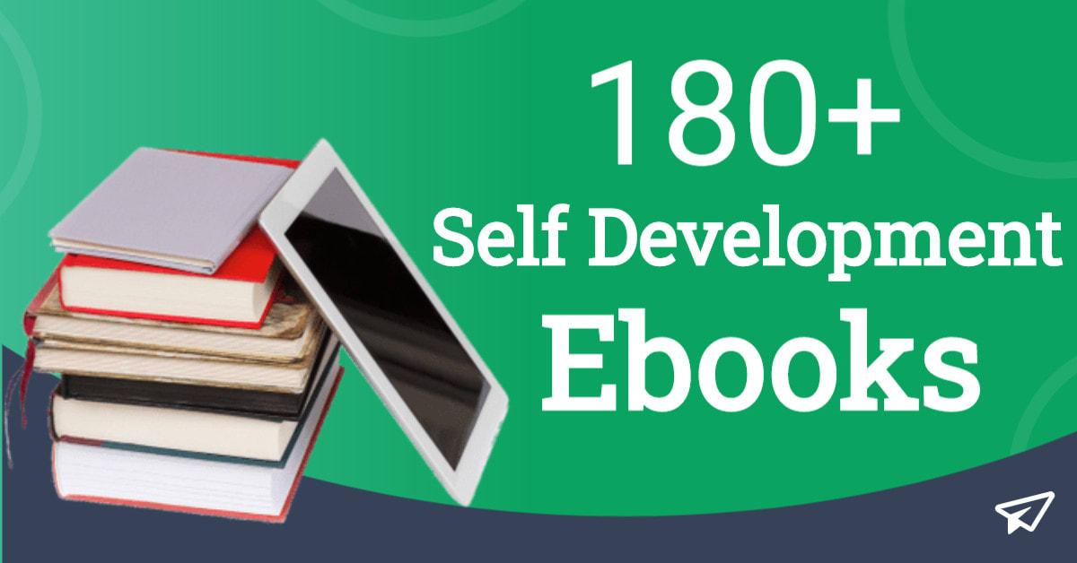 I will give you 180 self development ebooks