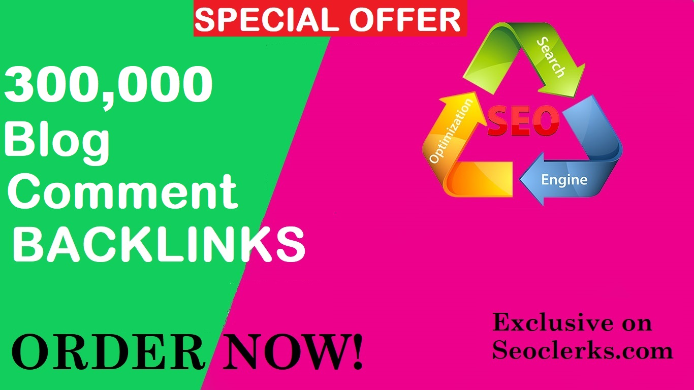 High Quality 300,000 GSA SER SEO Blog comment Backlinks for website and youtube ranking
