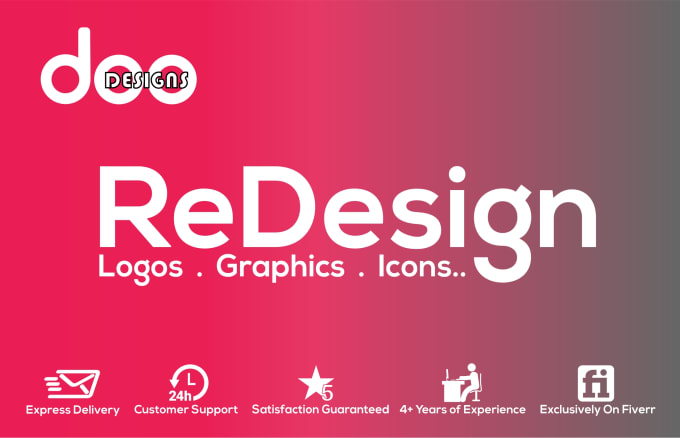 I will design,  redesign,  edit,  vectorize any logo or graphic