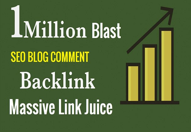 I will do 1 million SEO blog comment backlinks to rank your website