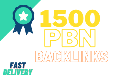 Top Quality 1500 SEO PBN Backlinks service