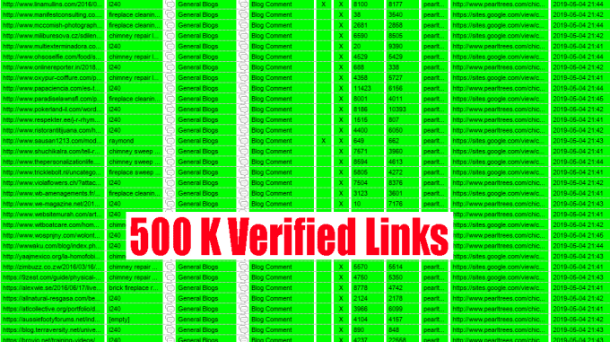 I will do build 100,000 blog comment backlinks by scrapebox