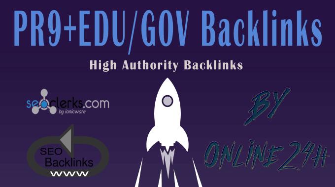 I will do create 60 powerful DA 80 pr9 high authority backlinks