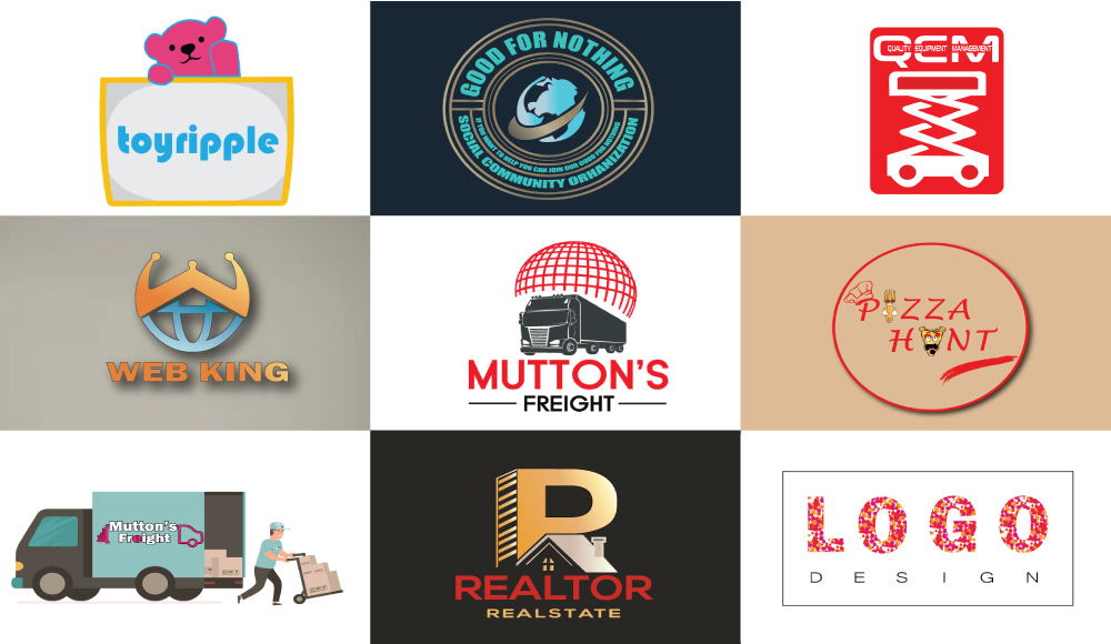I will Design Unique and Modern Minimalist Logo for you with in 24 hour