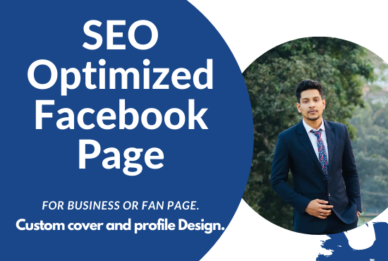 Create,  design & develop your optimized SEO friendly Facebook page