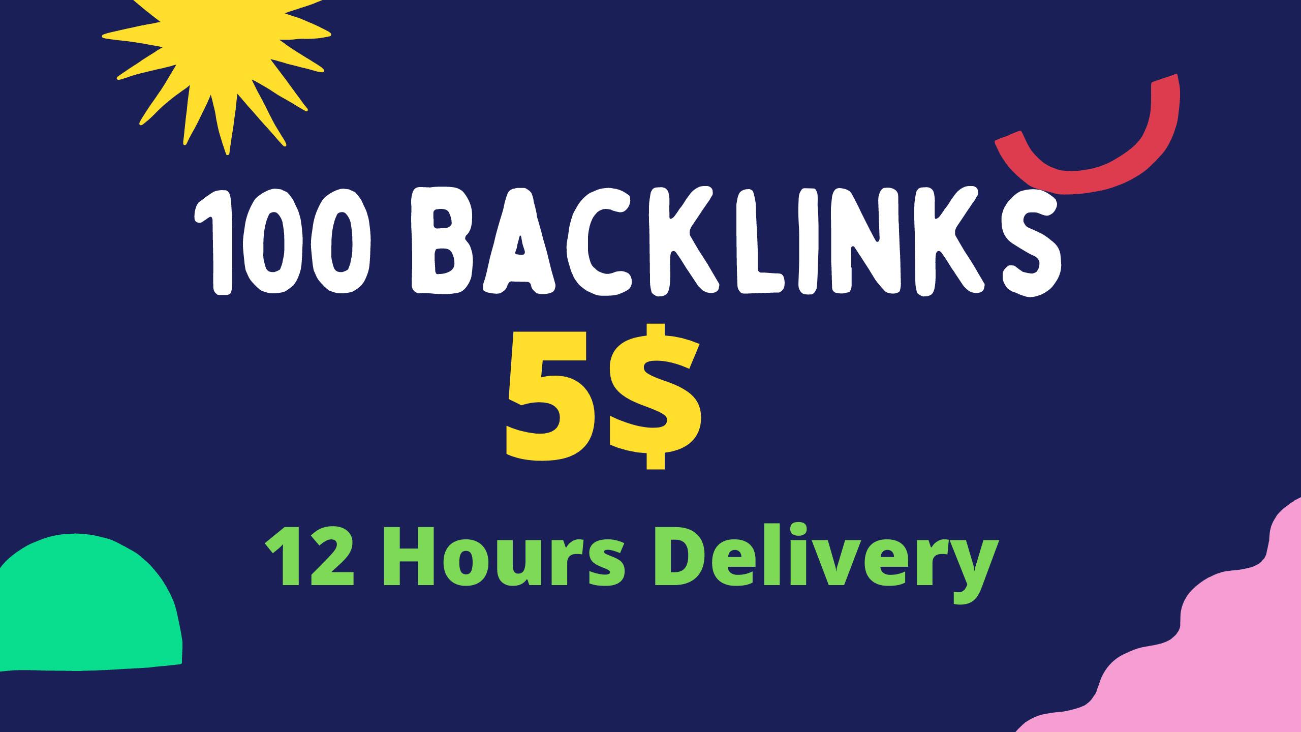 I will make high quality 100 pr9 da 70 up backlinks link building 24h